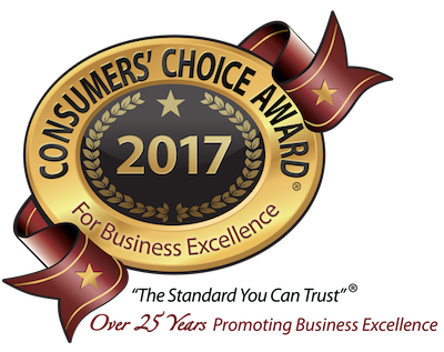 CONSUMER'S CHOICE AWARD WINNER
